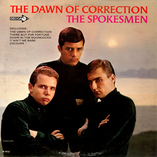 The Spokesmen LP: The Dawn of Correction